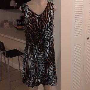 PREMISE Animal Print Dress